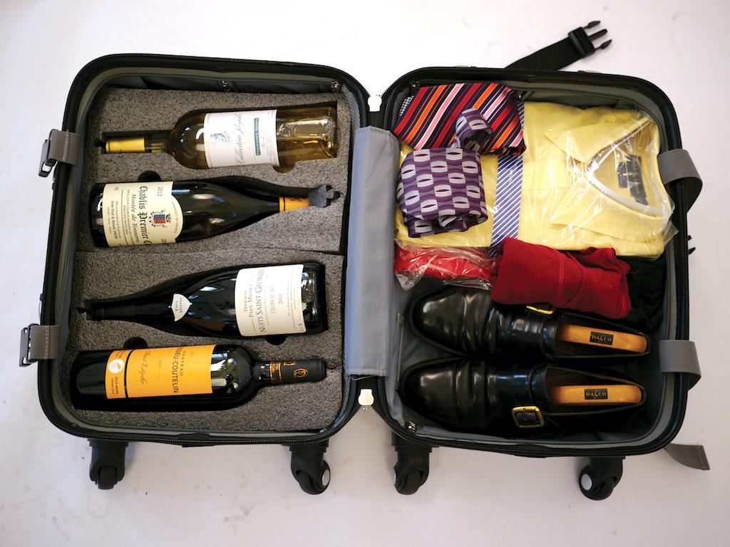 Como levar vinhos na bagagem