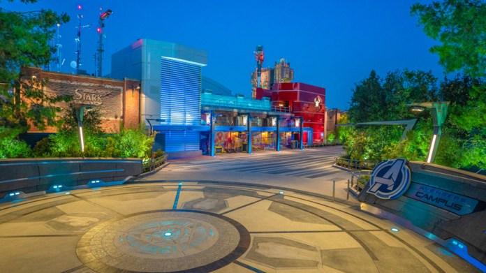 Campus dos Vingadores na Disney Califórnia