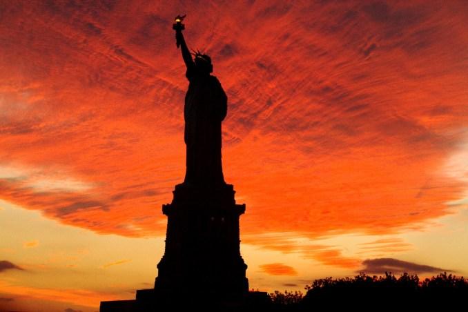 Final de tarde em Nova York (foto: Eduardo Vessoni)