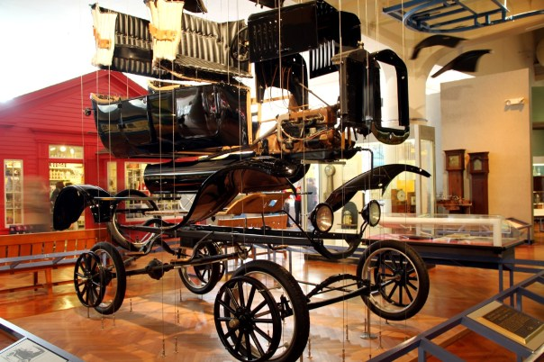 Henry Ford Museum, em Detroit (foto: Eduardo Vessoni)