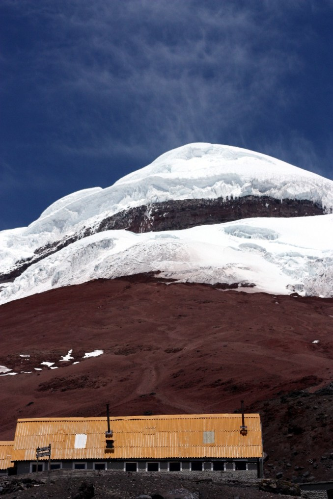 Vulcão Cotopaxi, um dos destaques da Avenida dos Vulcões, no Equador Saiba mais (foto: Eduardo Vessoni)