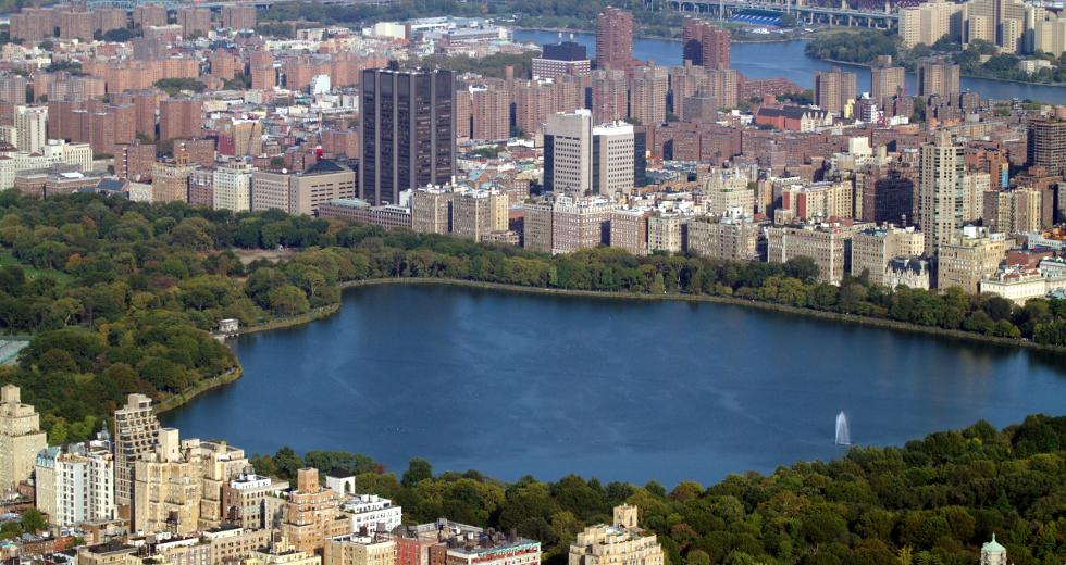 Central Park visto do alto (foto: Eduardo Vessoni)