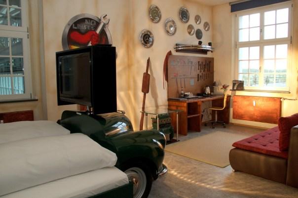 Hotel V8, em Stuttgart (foto: Eduardo Vessoni)
