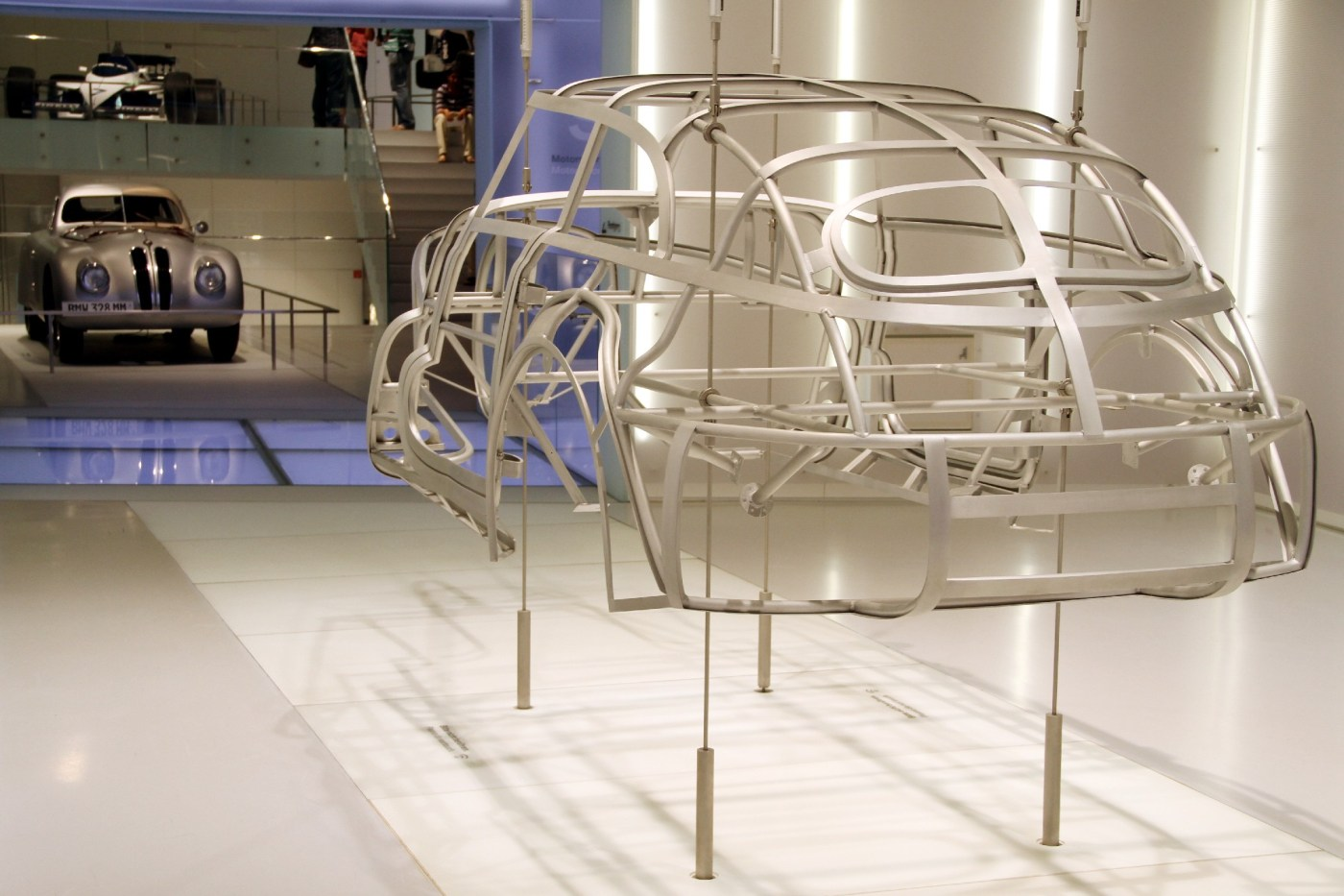 Museu da BMW, em Munique (foto: Eduardo Vessoni)