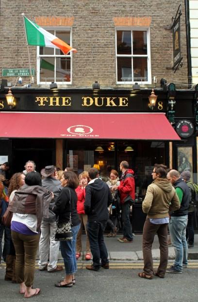 Fachada do pub The Duke (foto: Eduardo Vessoni)