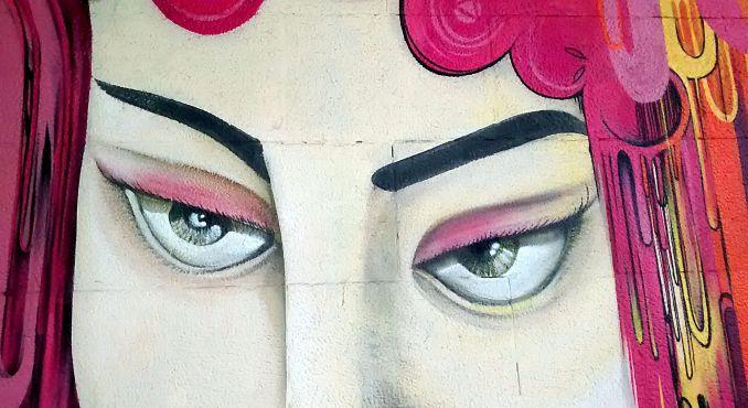 NOVE DE JULHO: Grafite na avenida 9 de julho, no centro de São Paulo (foto: dfactory/Flickr-Creative Commons)