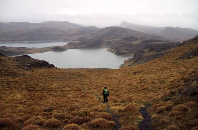 Trilha Orígenes de la Vida, no Parque Nacional Torres del Paine (foto: Eduardo Vessoni)