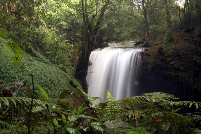 Cachoeira do Funil, em Mambaí (foto: Eduardo Vessoni)