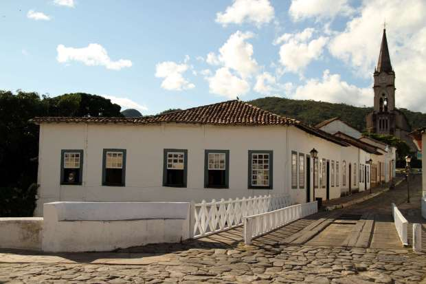Vista da fachada do Museu Casa Cora Coralina, na Cidade de Goiás (foto: Eduardo Vessoni)