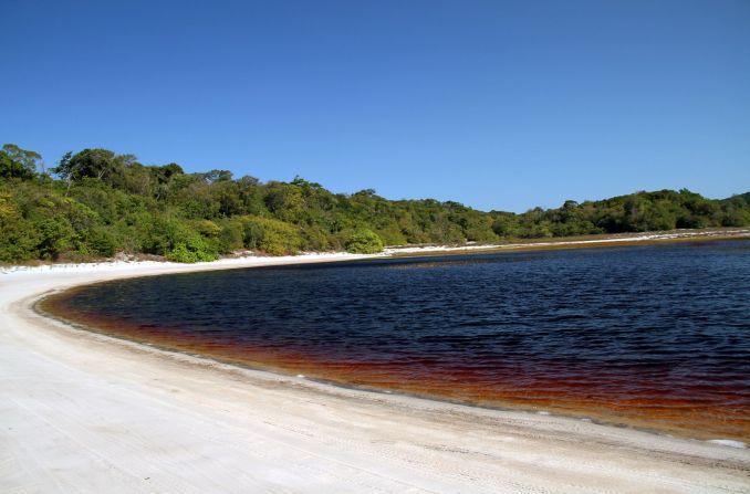 Lagoa da Coca Cola (foto: Eduardo Vessoni)