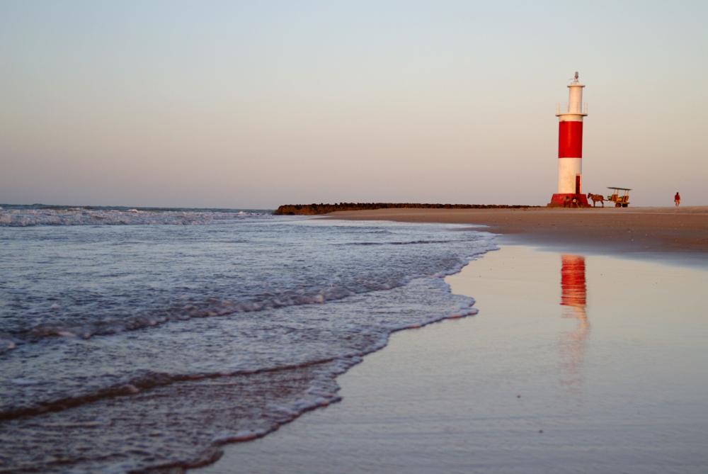 Praia do Farol, em Galinhos (foto: Eduardo Vessoni)