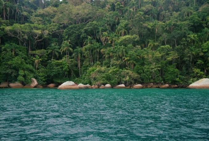 Lagoa Azul, em Paraty (foto: Eduardo Vessoni)