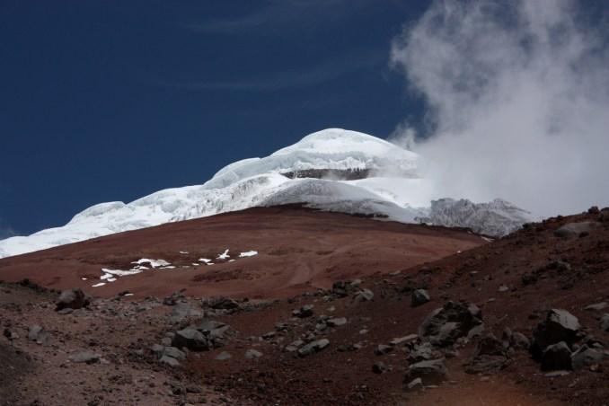 Vulcão Cotopaxi (foto: Eduardo Vessoni)