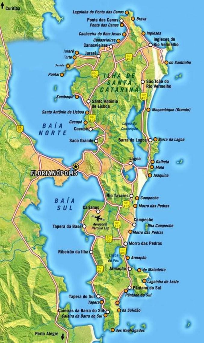 imagem: Secretaria Municipal de Turismo da Prefeitura de Florianópolis