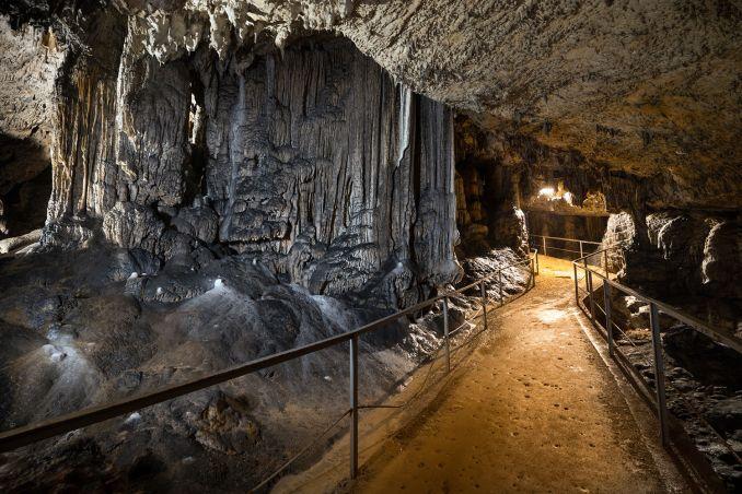 Caverna de Postojna, na Eslovênia (foto: Slovenian Tourist Board)
