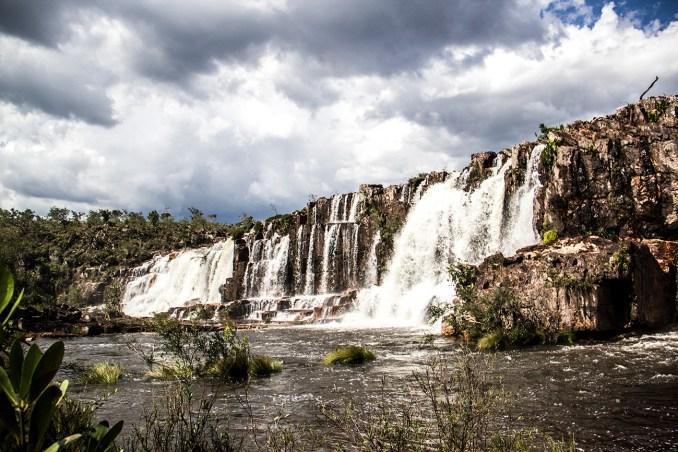 Catarata dos Couros, em Alto Paraíso (foto: Wikimedia Commons)