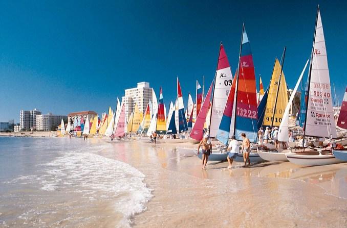 Vista de Hobie Beach, em Porto Elizabeth (foto: South Africa Tourism)