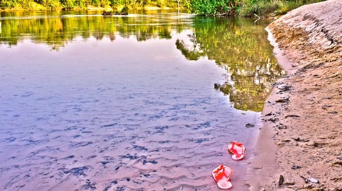 Praia do Rio Novo, no Jalapão, em Tocantins (foto: lubasi/Flickr-Creative Commons)