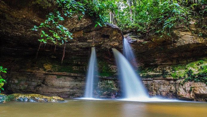 Cachoeira da Pedra Furada (foto: Embratur/Divulgação)