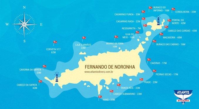 Fernando de Noronha, Pernambuco, mergulho, Brasil
