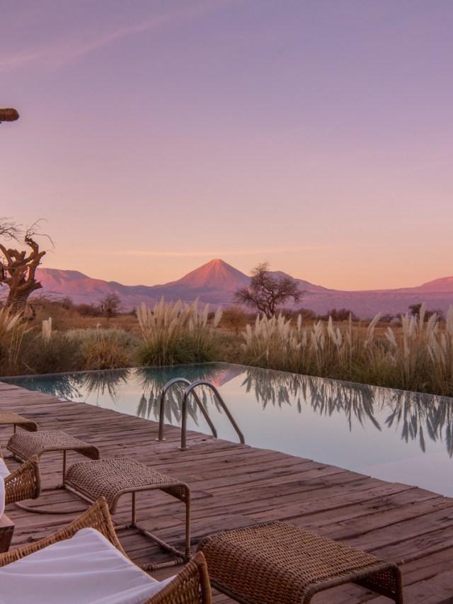 3 hotéis incríveis no Chile