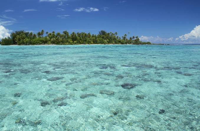 Taha'a, uma das ilhas do Tahiti, na Polinésia Francesa (foto: Eduardo Vessoni)