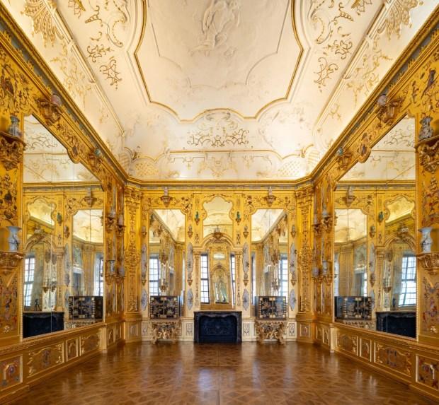 Gabinete de Ouro, no Belvedere Inferior (foto: Lukas Schaller/Divulgação)
