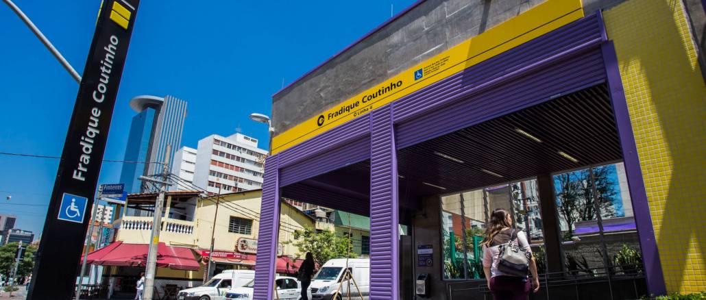 Estação Fradique Coutinho.