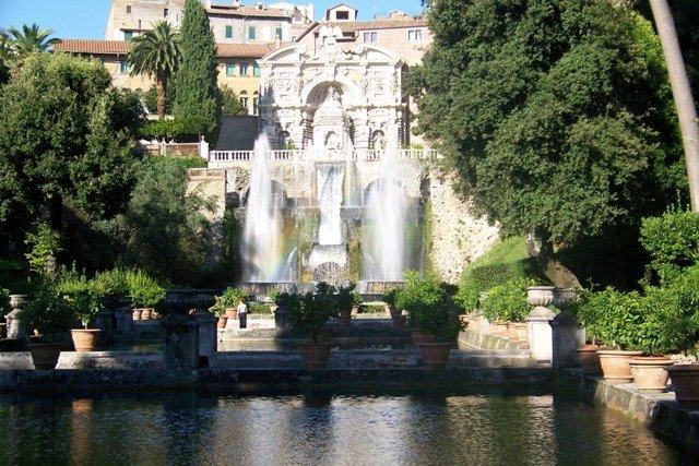 Villa d'Este, Itália, Patrimônio UNESCO perto de Roma