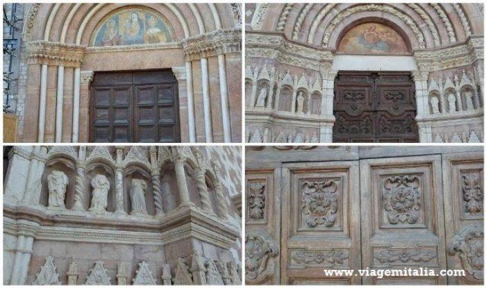 Dicas de viagem na Itália: Abruzzo. Basílica de Collemaggio