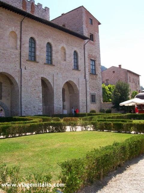 Gubbio, cidade medieval na Úmbria, Itália