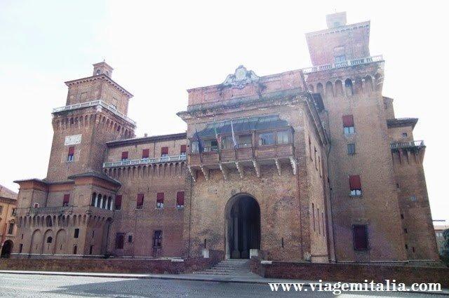O que ver em Ferrara na Itália: Castelo de Ferrara