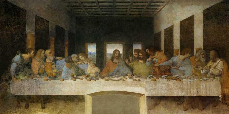 A Última Ceia de Leonardo da Vinci + Igreja de Santa Maria delle Grazie em Milão