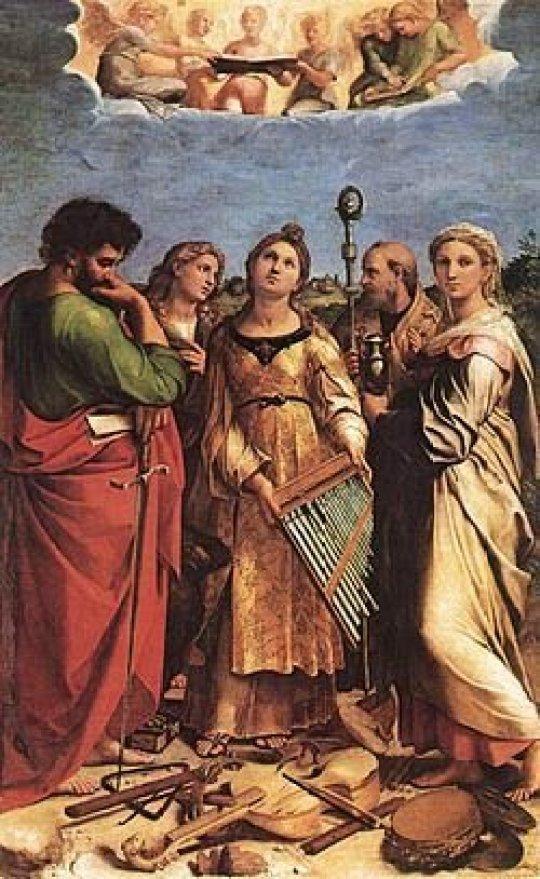 Santa Cecília de Rafael Sanzio