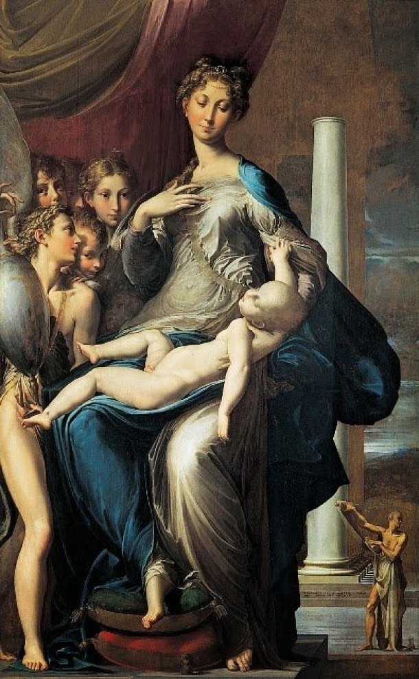Figura materna na arte italiana