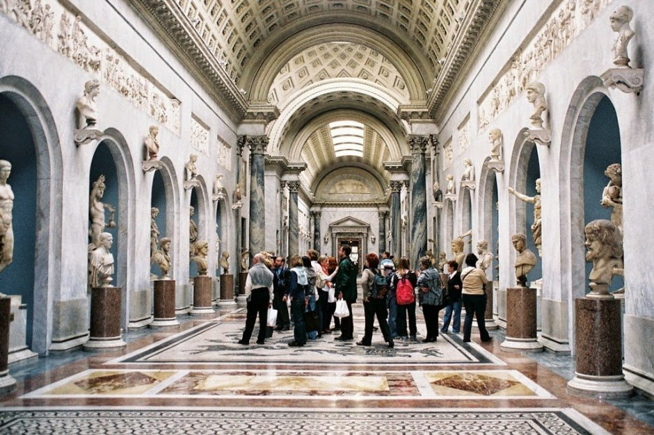 Galeria Braccio Nuovo.