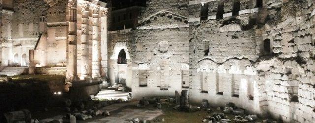 Abertura noturna de atrações no verão italiano de 2017