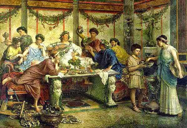 Alimentação na Itália Antiga
