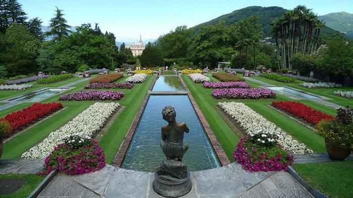 Jardim mais bonito do mundo. Villa Taranto na Itália