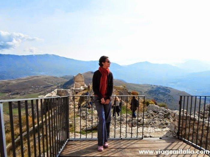 Castelos mais bonitos do mundo: Castelo de Rocca Calascio, Abruzzo
