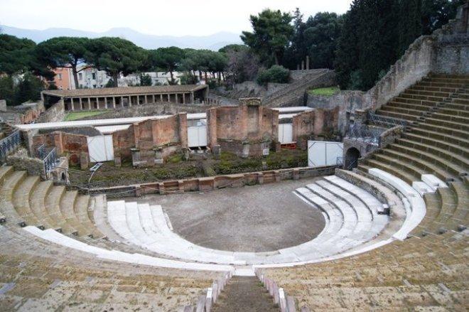 História do teatro na Roma Antiga
