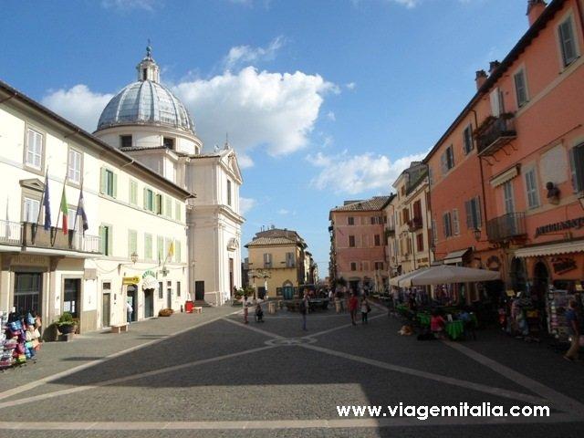 Residência papal de Castel Gandolfo, perto de Roma.