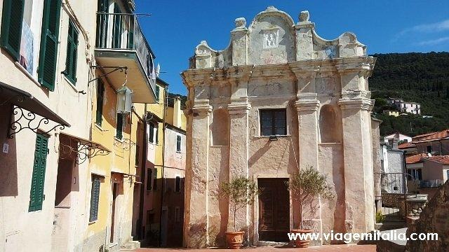 Burgo de Tellaro, um dos mais bonitos da Itália