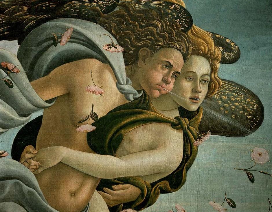 Biografia e obras de Botticelli na Itália. Nascimento de Vênus