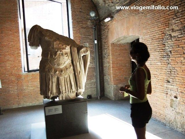 Dicas de 2 museus arqueológicos em Roma: Mercado de Trajano