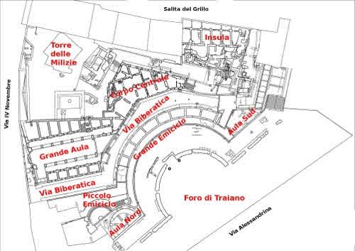 Mercado de Trajano em Roma e Museu dos Fóruns Imperiais