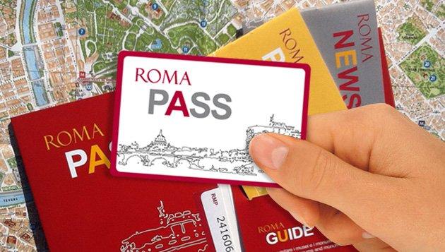 Cartão Roma Pass e infopoints em Roma
