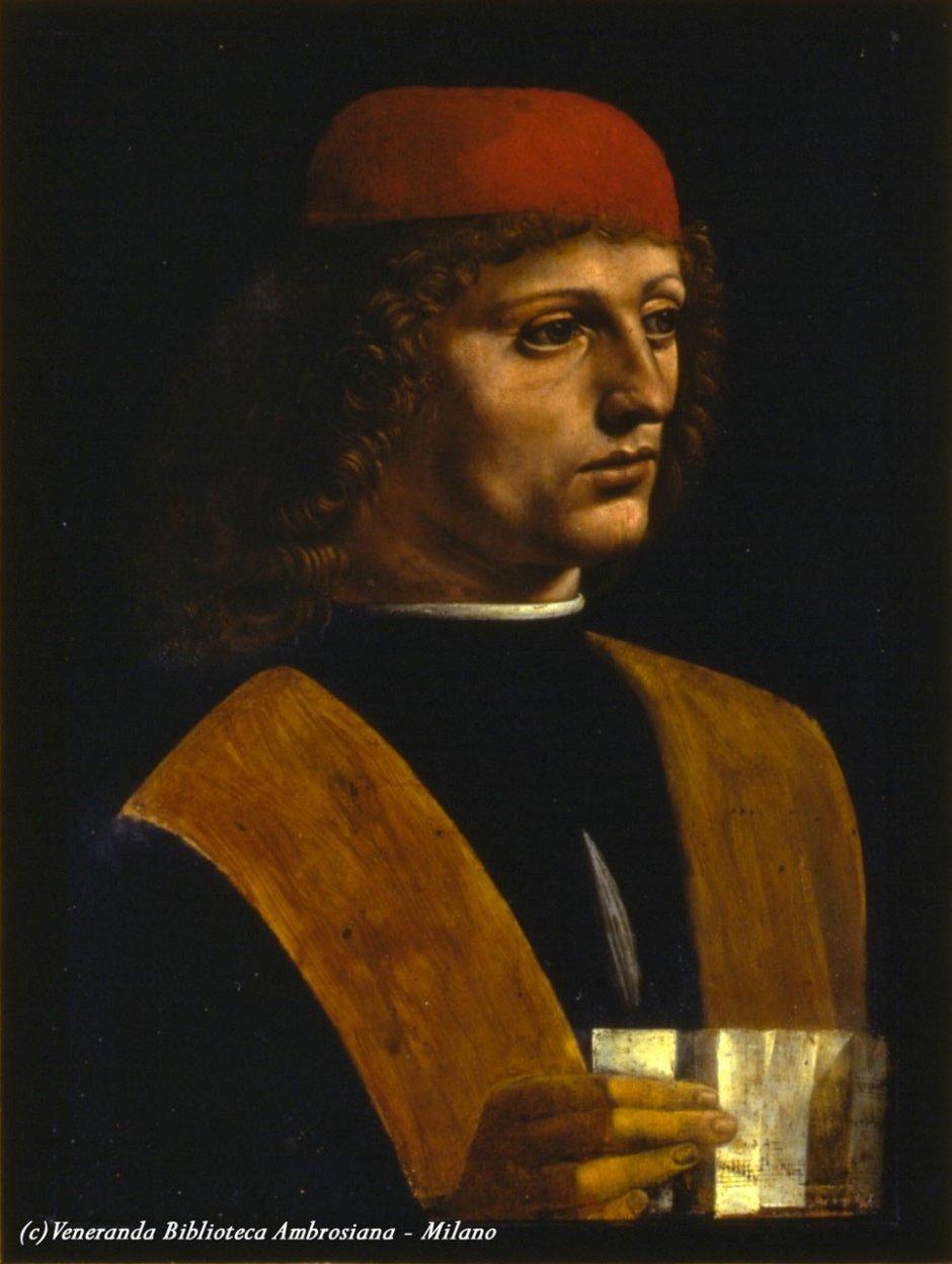 Pinacoteca Ambrosiana em Milão. Leonardo da Vinci