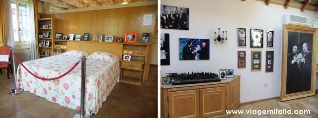 Casa-museu de Luciano Pavarotti, Modena