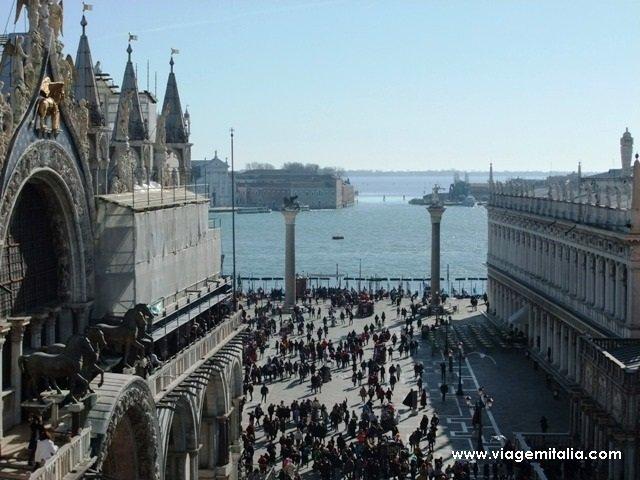 Torre do Relógio em Veneza